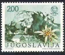 Yugoslavia 1974 Flowers/Mountain/Sports/Climbing/Plants/Nature 1v (n37766)