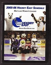 2005-06 Hockey East Schedule Booklet