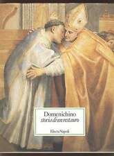 DOMENICHINO storia di un restauro Catalogo mostra 1993 Electa Napoli 1987