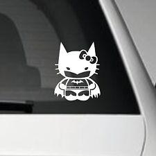 Bat Kitty Vinilo Auto Adhesivo Decal Sticker Jdm Jap Vw Euro Dub Escena