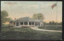 POSTCARD NEW BEDFORD MASSACHUSETTS/MA GOLF COURSE COUNTRY CLUB HOUSE 1907