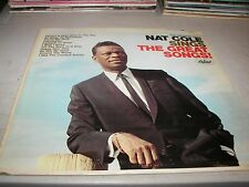 THE UNFORGETTABLE NAT COLE SINGS THE GREAT SONGS LP NM Capitol T-2588 1966