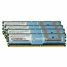 16GB Micron 4x4GB PC2-5300F DDR2-667MHZ ECC Fully Buffered FB-DIMM Server Memory