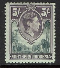 Northern Rhodesia SG# 43 - Mint Hinged (Hinge Rem) - Lot 040416