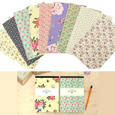 63sheets Beautiful Flower Pattern Letter Lined Writing Stationery Paper Pad