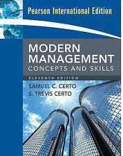 Modern Management: International Version: Concepts and Skills, Certo, Samuel C.