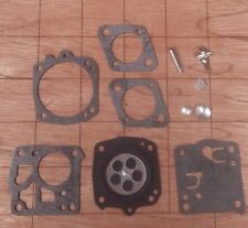 OEM Carb CARBURETOR repair rebuild overhaul KIT tillotson Hs Jonsered 630 621 52