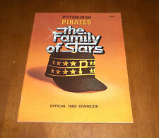 1980 PITTSBURGH PIRATES OFFICIAL YEARBOOK