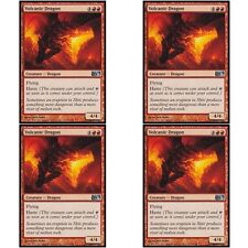 4 x VOLCANIC DRAGON NM mtg M12 Red - Creature Dragon Unc
