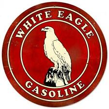 White Eagle Gasoline Metal Sign Man Cave Garage Club Service Gas Station pts091