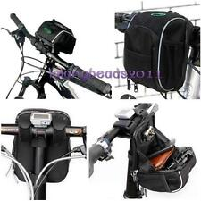 New Cycling Bicycle Front Handlebar Holder Waterproof Pannier Pouch Case Bag LA