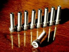 Jointer Cutter Attachment Bolts for ShopSmith Mark V Machines • Stainless Steel
