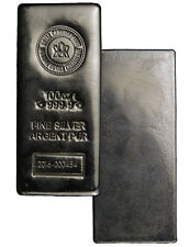 2016 Royal Canadian Mint 100 Troy Oz .9999 Silver Bar SKU39735