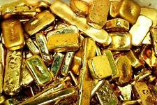90 grams gold recovery gold bar Melted Drop Scrap plated Recovered cpu NEW