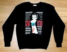ASTROBOY 3D Lenticular Japanese Sweatshirt Medium MIGHTY ATOM Anime Tezuka