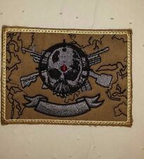 ARMY PATCH, SPECIAL WARFARE MARKSMANSHIP CENTER AFGHANISTAN,THEATER MADE