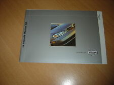 CATALOGUE Nissan Maxima QX de 2000