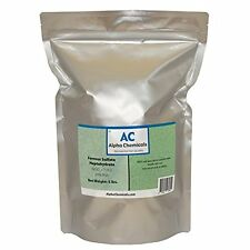 Ferrous Sulfate Heptahydrate - FeSO4*7H2O - 20% Iron - Very Soluble - 5 Pounds,