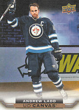 15/16 UPPER DECK UD CANVAS #C207 ANDREW LADD JETS *13469