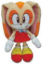 "Genuine Sonic the Hedgehog ~ 7.5"" Cream the Rabbit New Plush by Great Eastern"