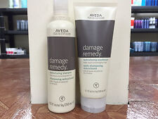 Aveda Damage Remedy Shampoo 8.5oz & Conditioner 6.7fl.oz Duel Set