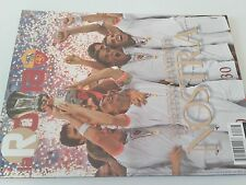 rivista LA ROMA_anno 2007_Giugno_FRANCESCO TOTTI_viottoria Coppa Italia