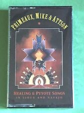 Healing & Peyote Songs, by Primeaux, Mike & Attson, SEALED 1994 Cassette, Sioux