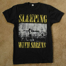 SLEEPING WITH SIRENS black t shirt size XS