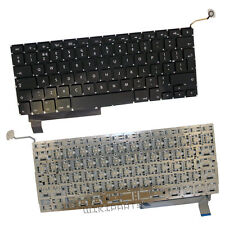 "Genuine Macbook Pro A1286 15"" UK Layout Keyboard & Backlight 2009 2010 2011 2012"