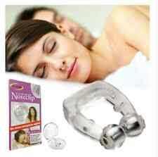 Stop Snoring Anti Snore Magnetic Nose Clip Apnea Guard Care Tray Sleeping Aid