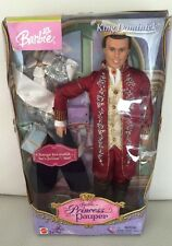 King Dominick & Julian Barbie the Princess and the Pauper 2004 NIB