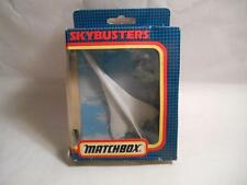 "1990 New MATCHBOX SKYBUSTERS ""CONCORDE SB-23 SUPERSONIC AIRLINER"" Die Cast Plane"