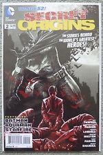 SECRET ORIGINS #2..BATMAN/AQUAMAN/STARFIRE..DC NEW 52 2014 1ST PRINT..VFN+