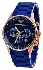 Emporio Armani AR5806 Blue Sportivo Chronograph men Wrist Watch