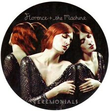 FLORENCE AND +THE MACHINE Ceremonials Ltd Ed RARE New Discontinued Sticker