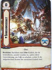 Warhammer 40000 Conquest LCG - 1x #106 invasione territorio-contro il nemico