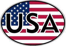 sticker decal car bike bumper macbook usa united states america flag map oval