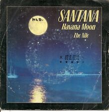 "45 TOURS / 7"" SINGLE--SANTANA--HAVANA MOON / THE NILE--1983"