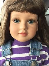"""My Twinn 23"""" Doll 1996/97 With Outfit. Cloth Body Arms Legs Feet Fully Jointed"""