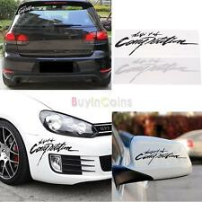 The Spirit Of Competition Car Sticker Styling Decals 3D Carbon Vinyl Vogue CTY