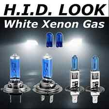 H7 H1 501 100w 477 448 White Xenon HID Look Headlight Low High Beam Bulbs Pack