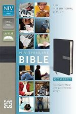 NIV Compact Thinline Bible, Slate/Concrete Duo-Tone, Limited Edition