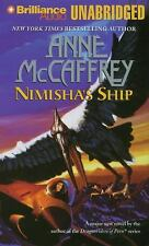 NIMISHA'S SHIP unabridged audio book on CD by ANNE McCAFFREY