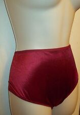 Silky pink Satin stretch panties. Ruby  size 8. Hanes.  Brief
