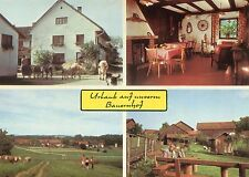 Alte Postkarte - Ranzing - Urlaub auf unserem Bauernhof