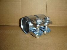 """2"""" X 3"""" STAINLESS STEEL (SS409)  EXHAUST SLEEVE CLAMP HEAVY DUTY"""