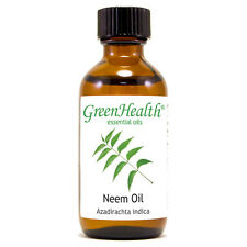 2 fl oz Neem Essential Oil (100% Pure & Natural) - GreenHealth
