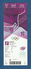 Orig.Ticket  Olympische Spiele LONDON 2012  FUSSBALL  FRANKREICH - KOLUMBIEN / A