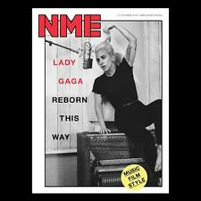 LADY GAGA - PHOTO COVER Interview NME UK magazine October 2016