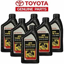 6 QTS GENUINE ATF TOYOTA TYPE - 4 PREMIUM TRANSMISSION FLUID